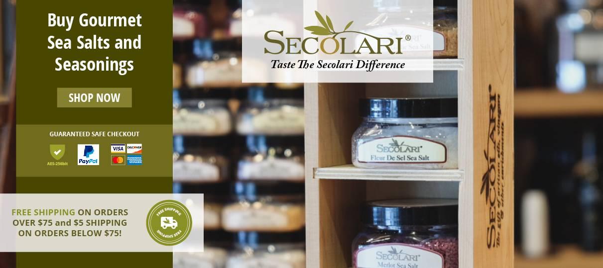 Secolari Salts and Seasonings