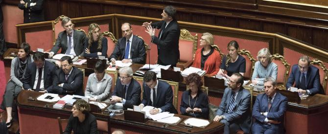 Petrolio & affari di governo: mozione di sfiducia unica da FI, Lega e Fratelli d'Italia