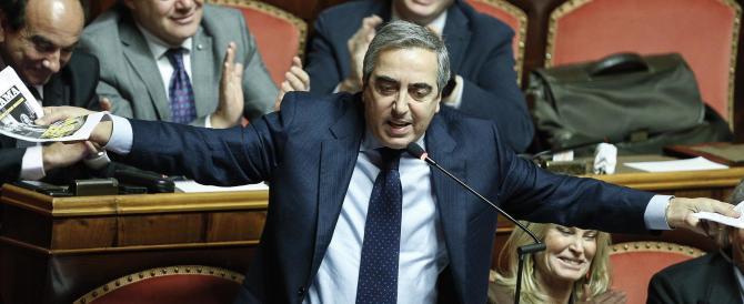 """Mafia, Gasparri: """"Le agende di Ciampi andavano chieste quando era vivo"""""""