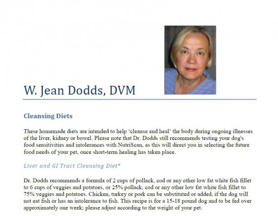 Dr. Dodds Liver Cleansing Diet