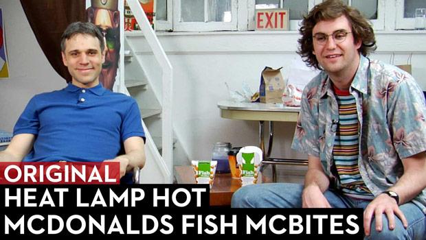 McDonalds Fish McBites Review: Heat Lamp Hot Episode 1