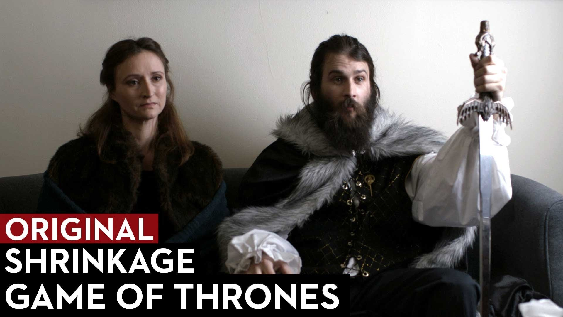 Game of Thrones' Ned Stark and Catelyn Stark Go to Therapy – Shrinkage Episode 4