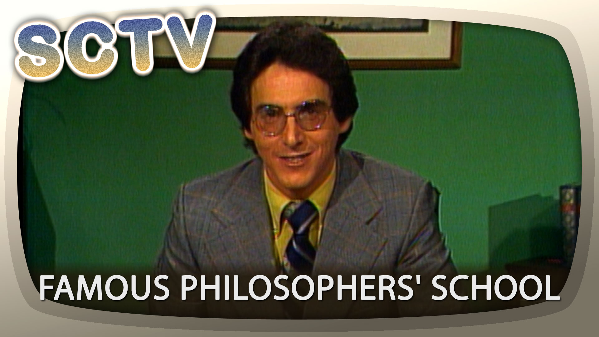 SCTV: Famous Philosophers' School with Harold Ramis