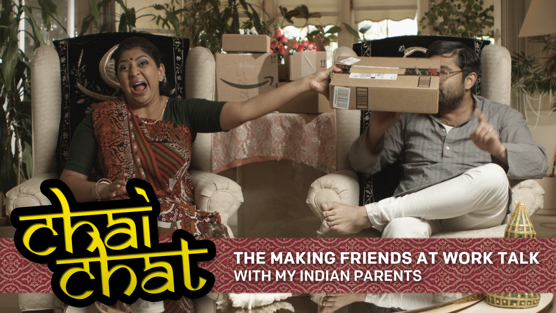 Chai Chat: The Making Friends At Work Talk – With My Indian Parents
