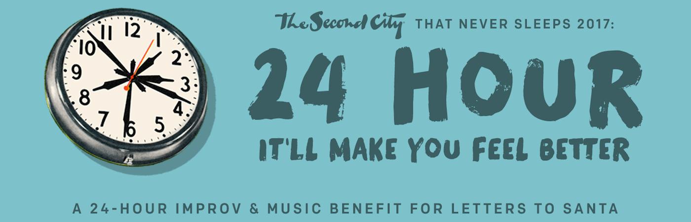 Second City's 24 Hour 2017: November 20-21, 2017
