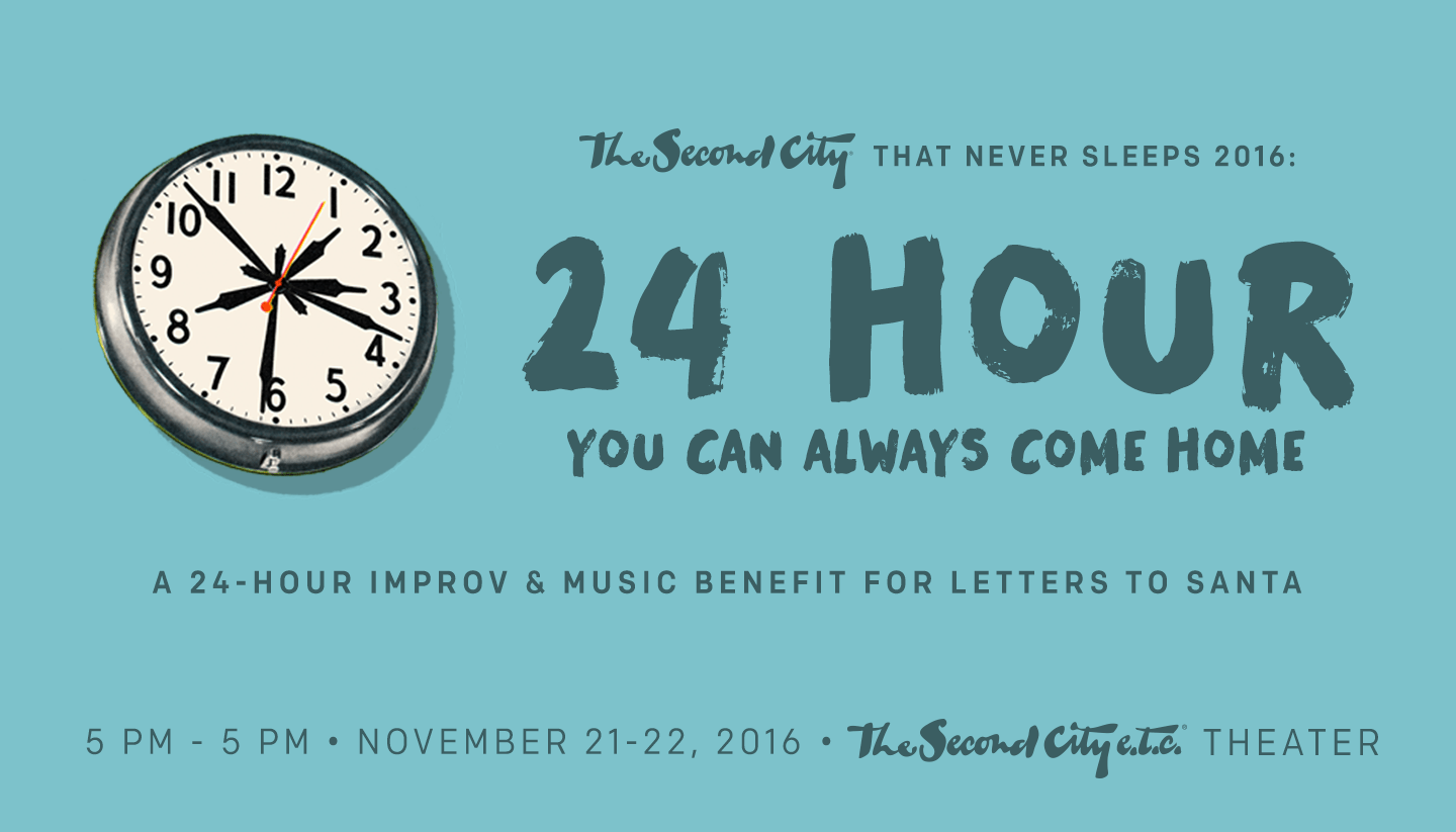 24 Reasons to Spend 24 Hours with The Second City