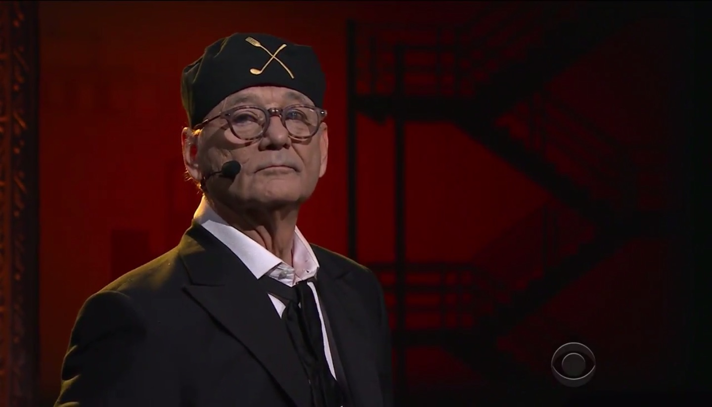 Bill Murray Sings A Particularly Relevant 'West Side Story' Medley on 'Colbert'