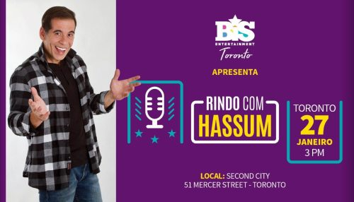 Rindo com Hassum