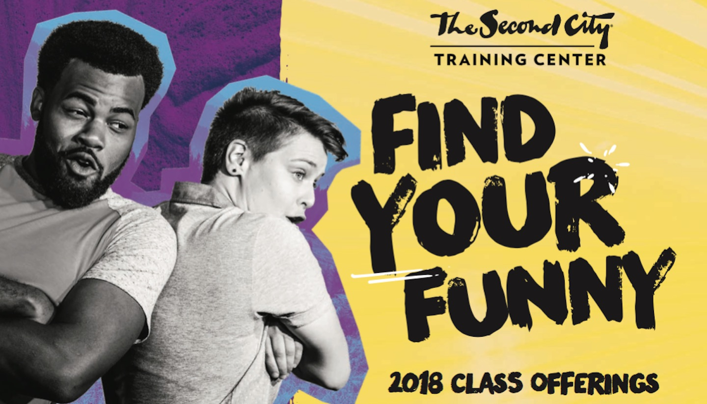 The Second City Training Center 2018 Class Catalog Is Out Now!