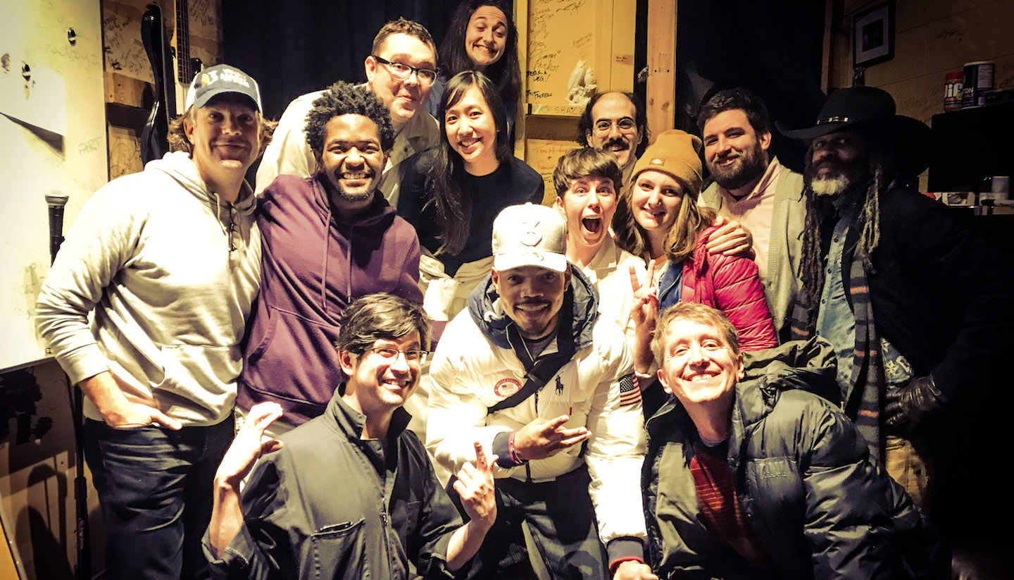 Chance The Rapper & Jason Sudeikis Were Weekend 'Dream Freaks'