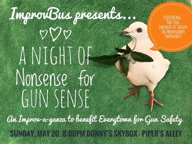 ImprovBus presents: A Night of Nonsense for Gun Sense