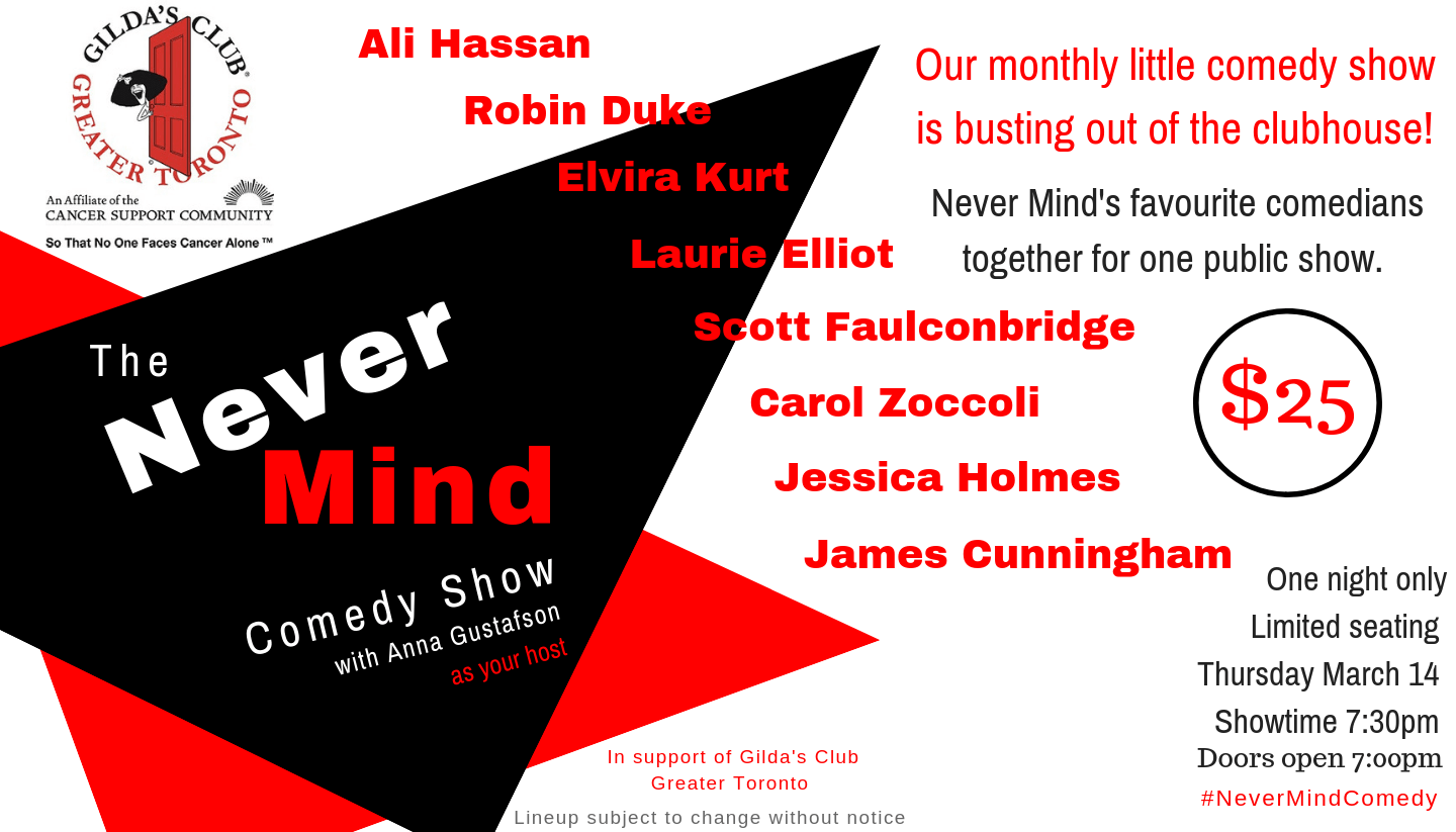 The Never Mind Comedy Show