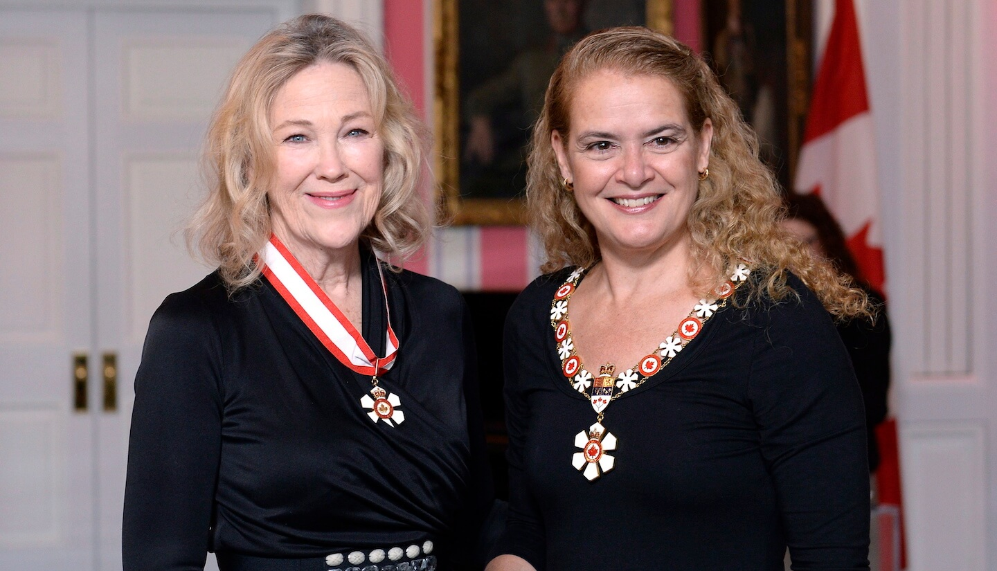 Catherine O'Hara Awarded the Order of Canada