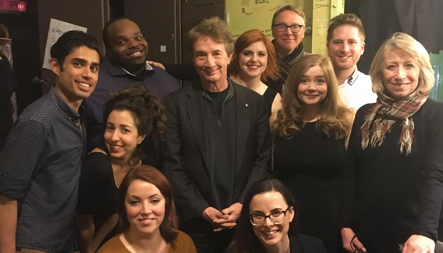 Martin Short & Robin Duke Swung By Their Old Stomping Grounds