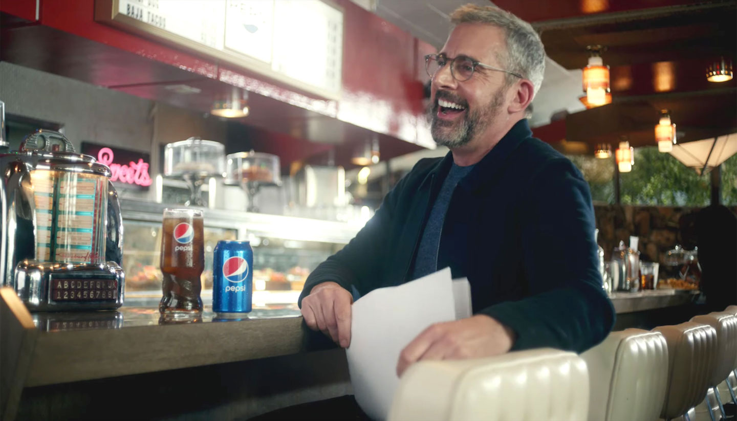 ICYMI: Steve Carell is 'Okay' with Pepsi