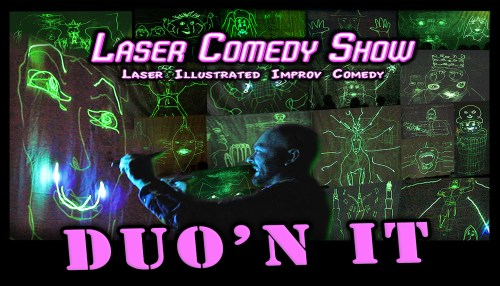 Laser Comedy Show – DUO'n IT