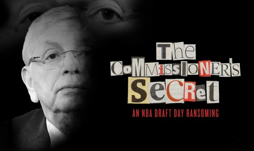 The Commissioner's Secret: An NBA Draft Day Ransoming