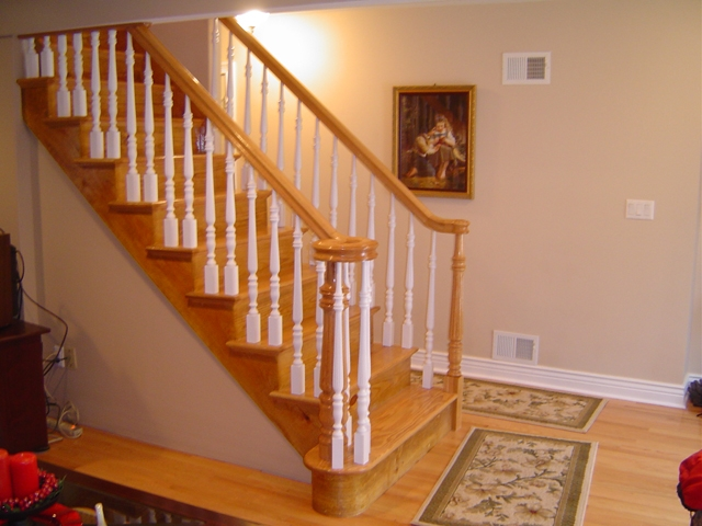 Second Generation Wood Stairs Railings Photo Gallery   Second Generation Wood Stairs   Railing   Presentation Transcript   Powerpoint Presentation   Interior Stair   Railing Systems