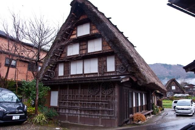 Minshuku in Shirakawa-go
