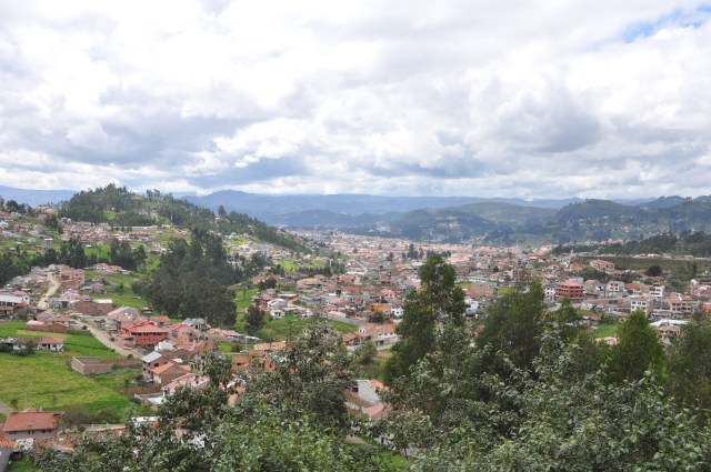 View from Airbnb, Baños, Cuenca