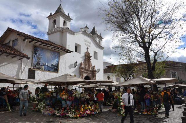 Plaza de las Flores, Cuenca