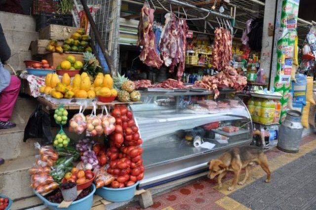 Food market, Otavalo
