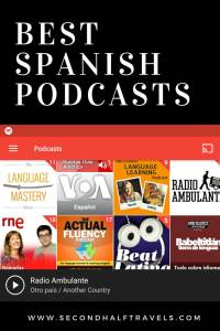 25 Best Spanish Podcasts (2019) • Second-Half Travels