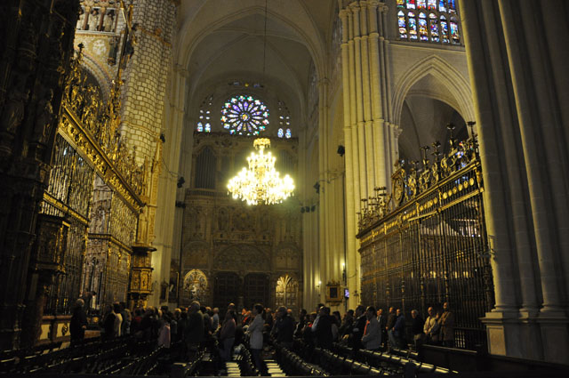Mass in Toledo cathedral