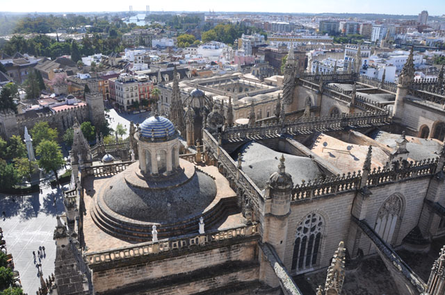 View from Giralda tower, Seville