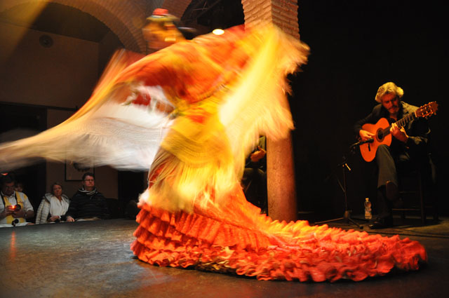 Performance at the Museo del Flamenco, Seville