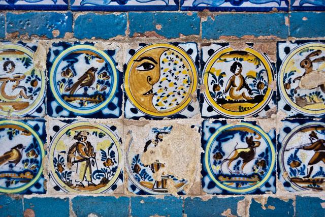 Tiles, Alcázar, Seville
