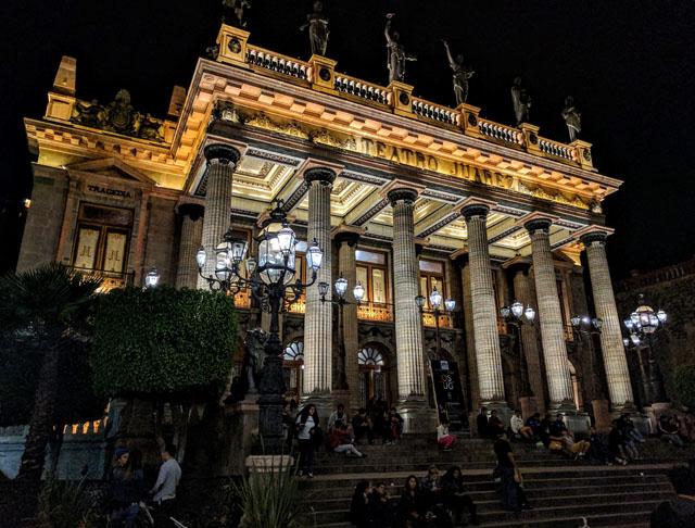 Teatro Juárez, Guanajuato