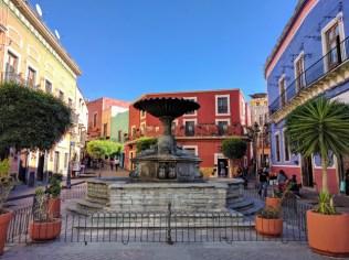 Plaza del Baratillo, Guanajuato