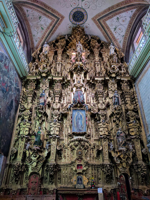 The famous Parroquia de Nuestra Señora de Los Dolores in Dolores Hidalgo, where the Mexican Independence movement started