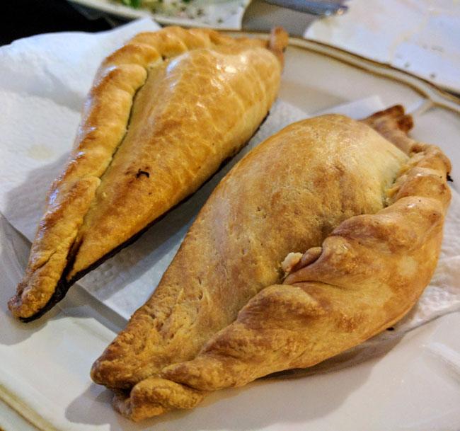 Kibinai, traditional savory pastries from Trakai