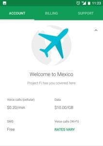 Google Fi in Yucatan, Mexico