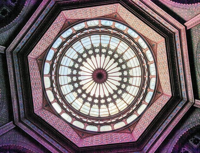 Dome, Kiosco Morisco, Mexico City