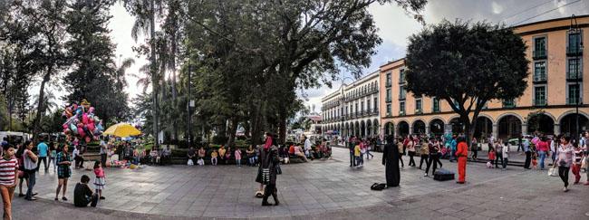 Zócalo, Xalapa, Mexico