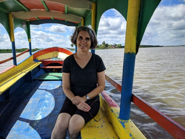 Taking a tour of the river, Tlacotalpan