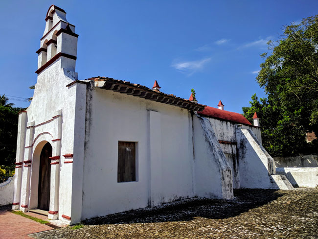 The oldest church in the Americas, Antigua, Veracruz