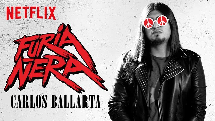 Carlos Ballarta: Furia Ñera - Netflix Mexican comics