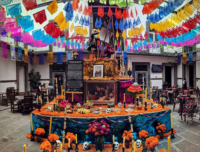 Altar, Día de Muertos, Puebla