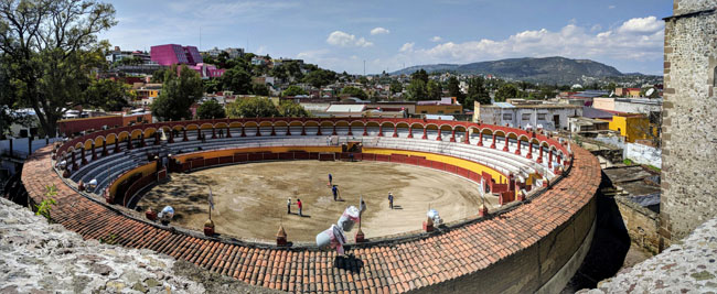 Plaza de toros, Tlaxcala City, Mexico
