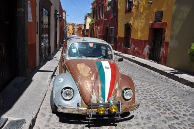 Street in San Miguel de Allende, Mexico