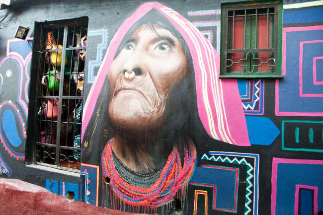 Street art, La Candelaria, Bogotá
