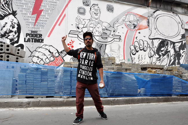 Graffiti tour, La Candelaria, Bogotá - things to do in Bogotá