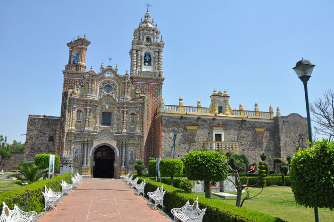 San Francisco Acatepec, Cholula, Mexico