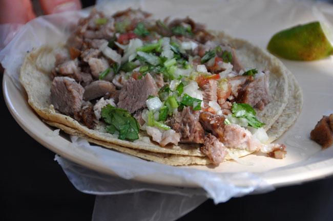 Tacos de carnitas, Mexico City street food tour