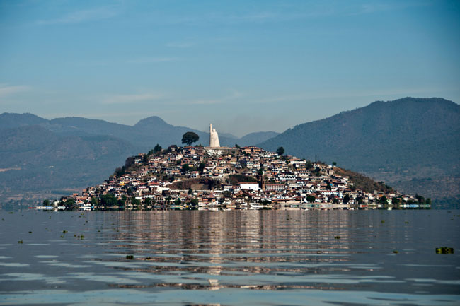 Isla de Janitzio on Lake Pátzcuaro