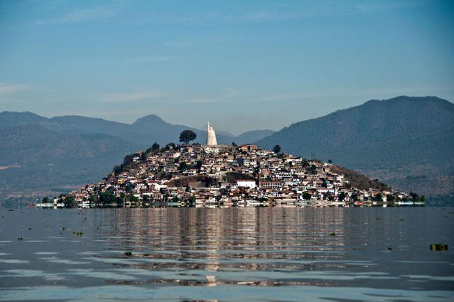 Isla de Janitzio on Lake Pátzcuaro